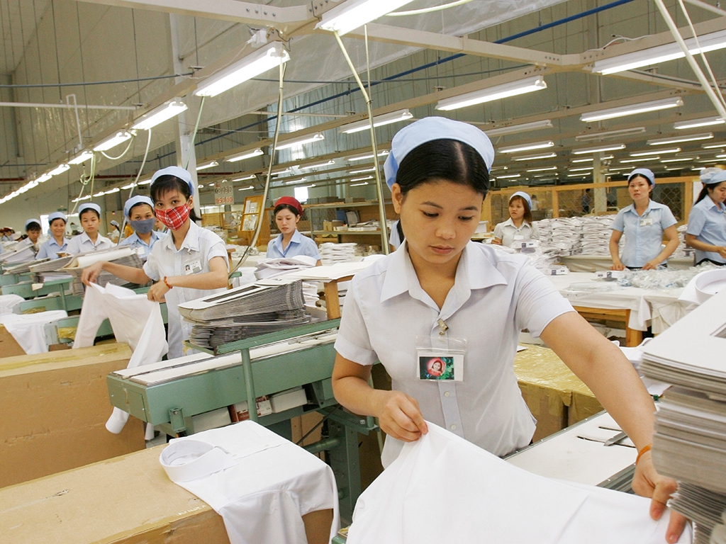 Vietnam textile industry normal