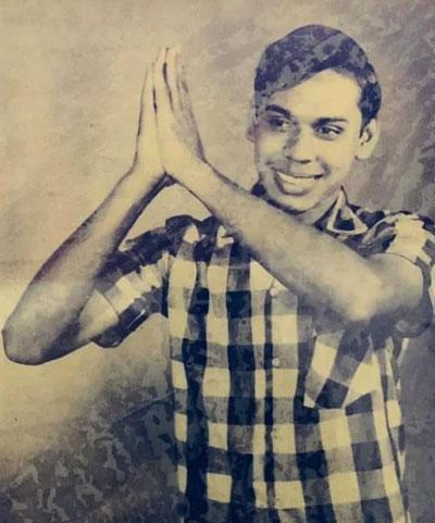 Mahinda young